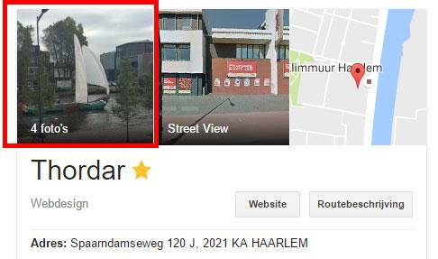 Je eigen foto in Google