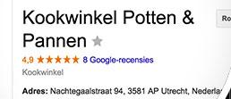 Reviews in Google