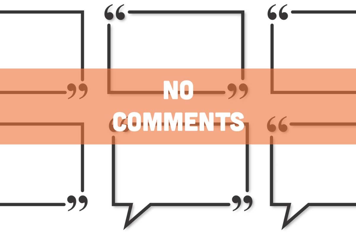 reacties uitschakelen in WordPress zonder plugin