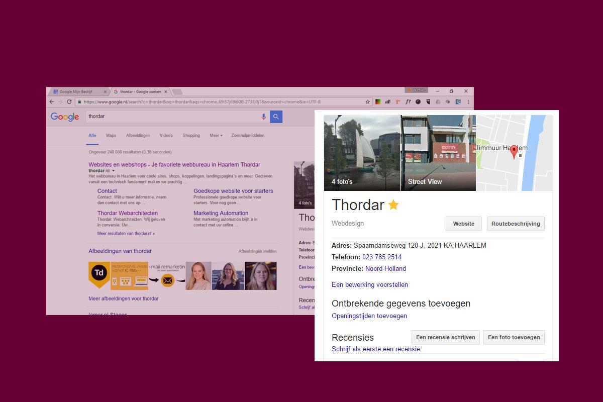 Zo maak je een Google Bedrijfspagina